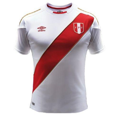 Купить Футболка сборной Перу по футболу ЧМ-2018 Домашняя по цене 2 ... fe861e532b6