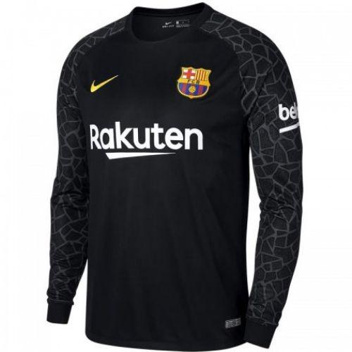 Детская футболка голкипера футбольного клуба Барселона 2017 2018 Домашняя a4adfead9f0