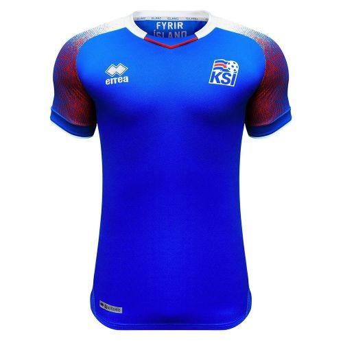 Форма сборной Исландии по футболу ЧМ-2018 Домашняя (комплект  футболка +  шорты + 7fc342583d4