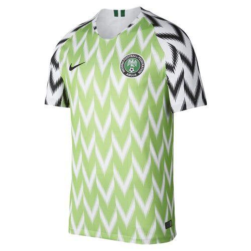 Форма сборной Нигерии по футболу ЧМ-2018 Домашняя (комплект  футболка +  шорты + c04e3a62220