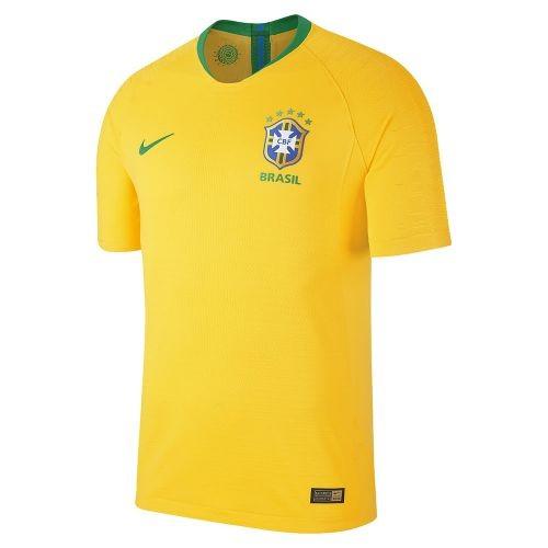 Купить Футболка сборной Бразилии по футболу ЧМ-2018 Домашняя по цене ... 4f693167074