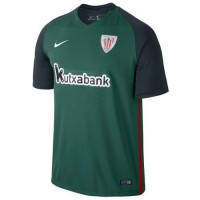 T-shirt do clube de futebol Athletic Bilbao 2016/2017 Convidado