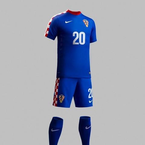 Детская форма Сборная Хорватии 2016 2017 (комплект  футболка + шорты +  гетры) 4c22cf47726