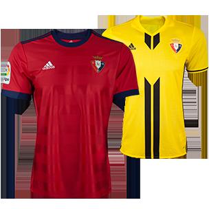 Купить Футболка футбольного клуба Осасуна 2017 2018 по цене 2 190 ... 7549f666f85