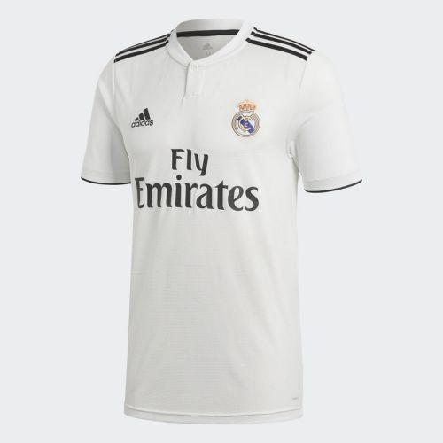 c25e5e1d2fc2 Детская форма футбольного клуба Реал Мадрид 2018 2019 Домашняя (комплект   футболка + шорты